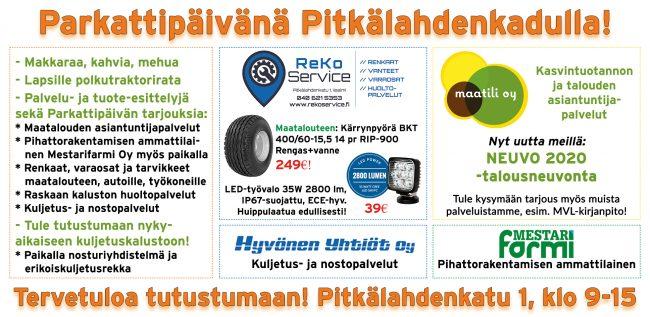 Parkattipaiva-mainos-ReKoService-Maatili-HyvonenYhtiot